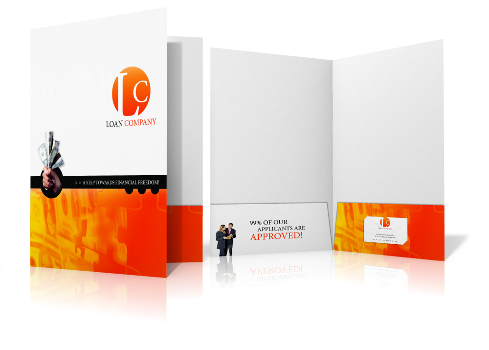 Presentation Folders - Flyer Printers Pretoria